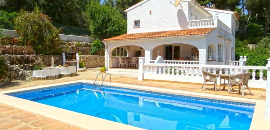 Ruime villa