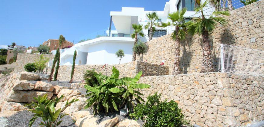 Moderne designvilla in Benissa, Pedramala