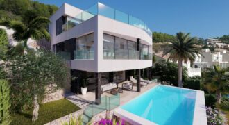 Exclusieve luxe villa Calpe met panoramisch uitzicht