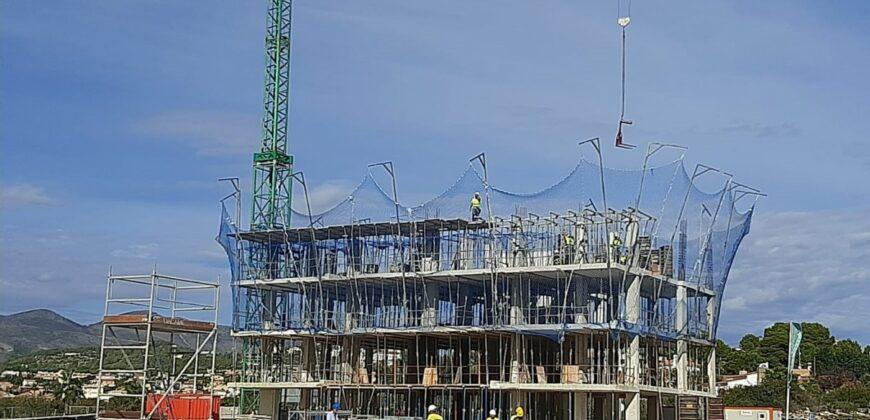 Exclusieve nieuwbouw appartementen Calpe