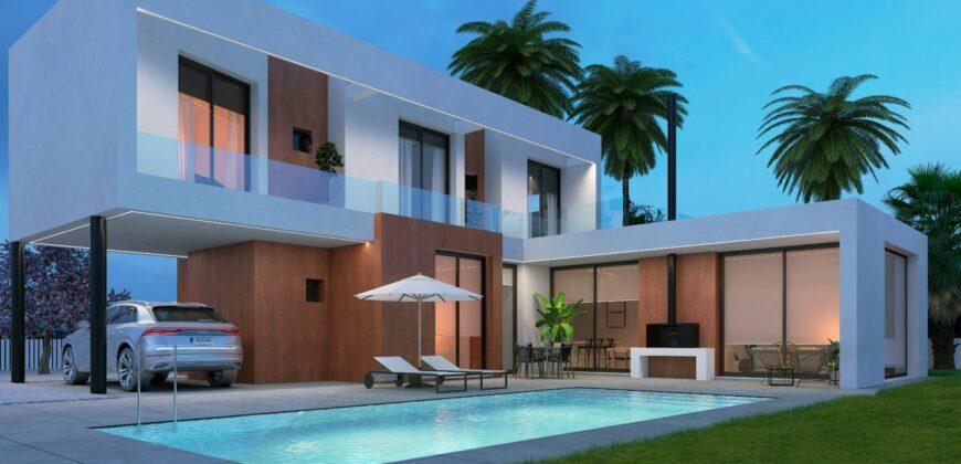 Luxe nieuwgebouwde villa op toplocatie in Calpe